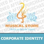 Music Corporate Identity Template 15486