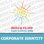 Night Club Corporate Identity Template 15489