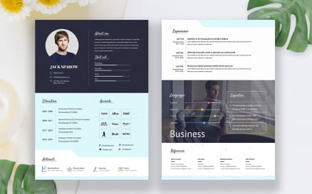 Creative Business CV Resume Template
