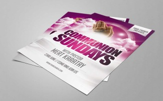 Pink Communion Sundays