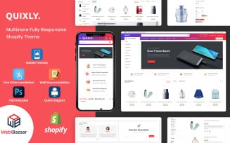 Quixly - Modern Electronics & Multipurpose Shopify Theme