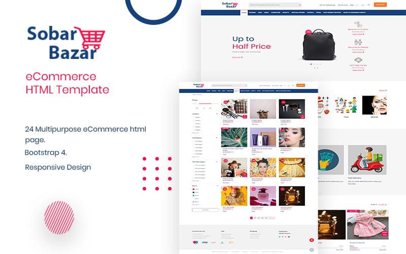 Sobarbazar -  Responsive Ultimate eCommerce №154100