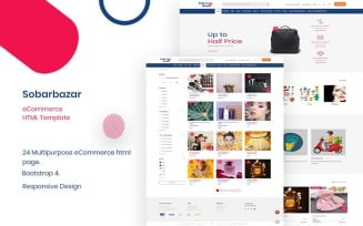 Sobarbazar - Responsive Ultimate eCommerce Website Template