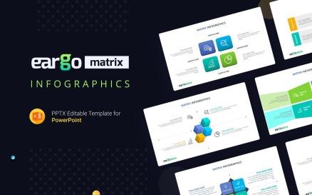 Eargo Matrix Infographics PowerPoint Template