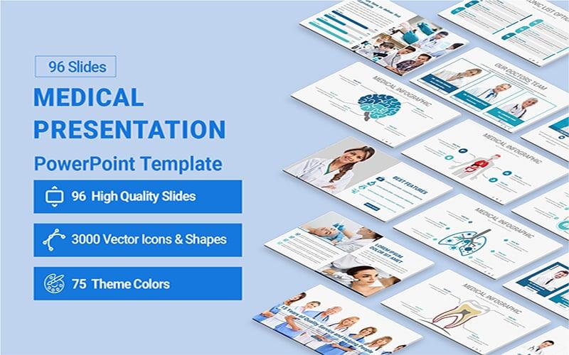 """""""Medical Presentation"""" modèle PowerPoint Premium #154261"""