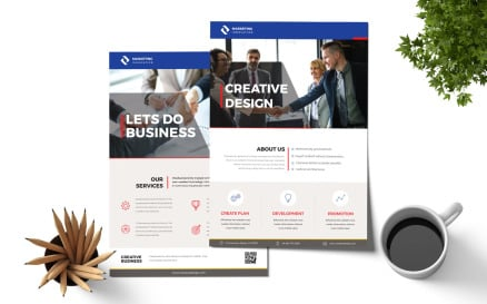 Business Flyer Corporate Identity