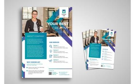 Flyer Template Creative Business Corporate Identity