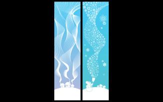 Winter Banners Vertical
