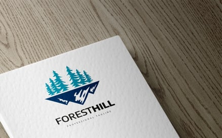 Forest Hill Logo Template