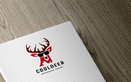 Cool Deer Logo Template