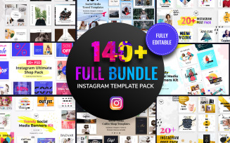 Instagram Post Social Media Template