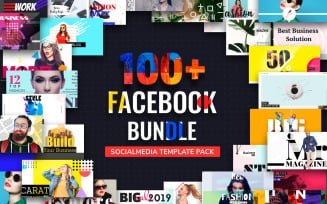 Facebook Post Bundle Social Media Template