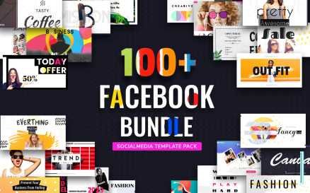Facebook Post Bundle II Social Media