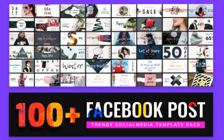 Facebook Post Bundle Social Media Template
