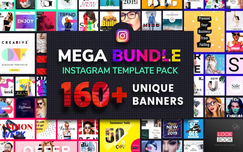 Instagram Mega Bundle Social Media Template