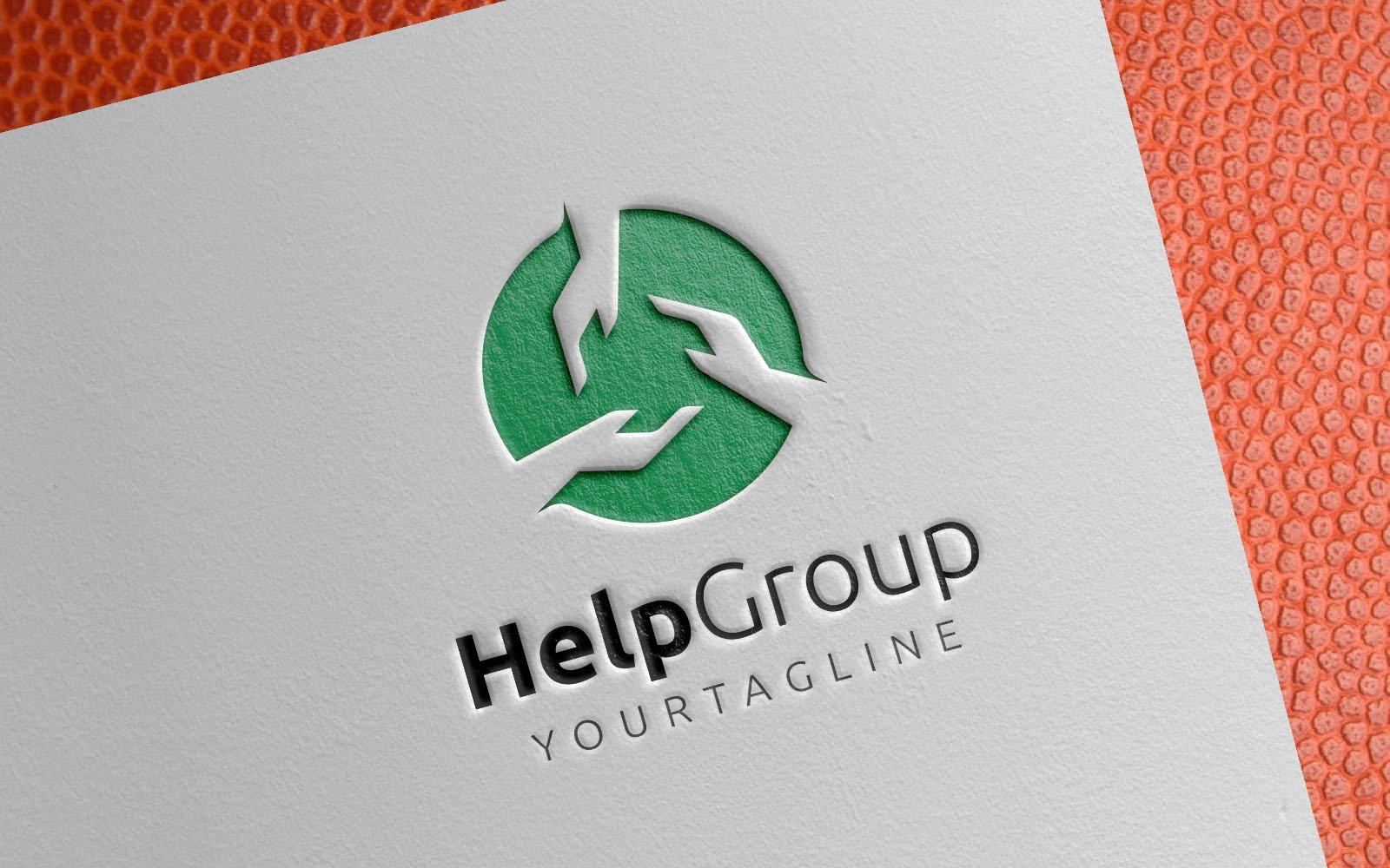 Help Group Community Template de Logotipo №154606