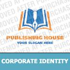 Books Corporate Identity Template 15543