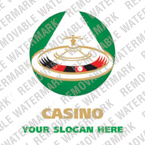 Casino Logo  Template 15546