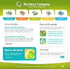 Flash: Business Flash Site Most Popular Web 2.0 Templates