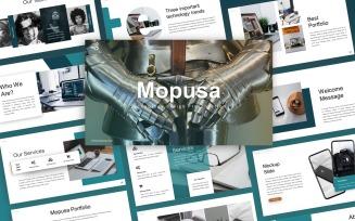 Mopusa Technology Presentation
