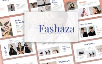 Fashaza Fashion Presentation