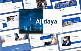 Ajidaya Business Presentation