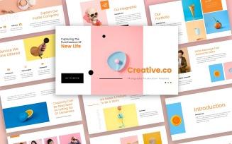 Creative.co Creative Presentation