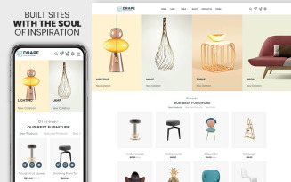 Drap - Furniture & Interior Bootstrap Shopify Theme