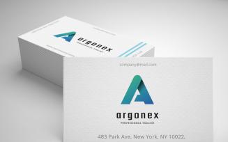 Argonex Letter A Logo Template