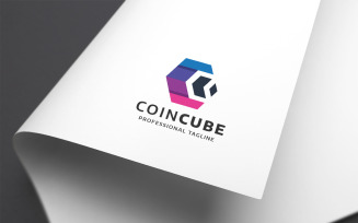 Coin Cube Letter C