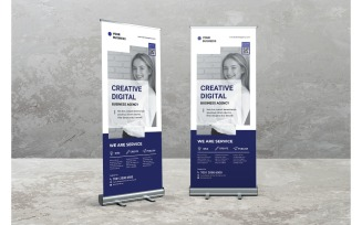 Roll Banner Creative Digital Agency