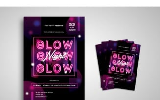Flyer Glow Night