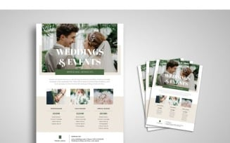Flyer Wedding Services