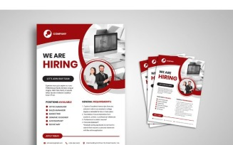 Flyer Hiring Jobs