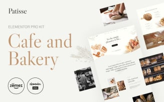 Patisse - Elementor Pro Cafe and Bakery Kit