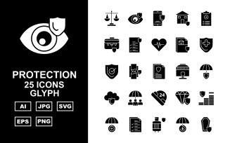 25 Premium Protection Glyph