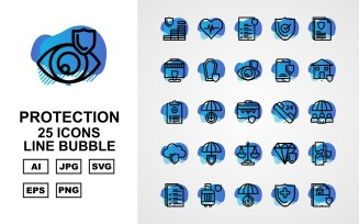 25 Premium Protection Line Bubble