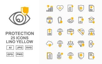 25 Premium Protection Lino Yellow