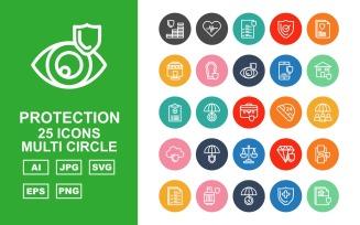 25 Premium Protection Multi Circle