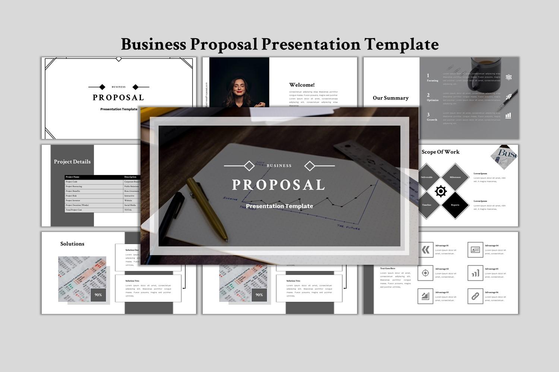 """""""Business Proposal - Creative Business"""" modèle PowerPoint Premium #155593"""