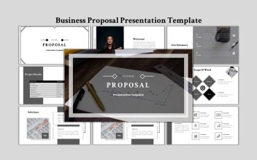 Business Proposal - Creative Business PowerPoint template