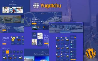 Yugatchu Luxury Yacht Club Service and Marine shop WooCommerce Theme