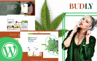 Budly - Cannabis Shop WordPress Theme