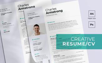 Creative FREE Resume Template