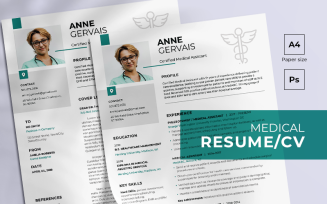 Medical Free Resume Template