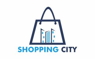 Shopping city Logo Template