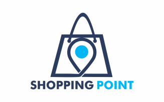 Shopping point Logo Template