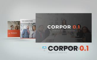Corpor 0.1 Keynote Template