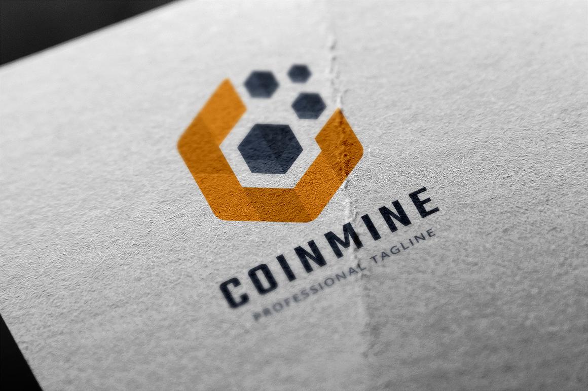 Coin Mine Template de Logotipo №156011
