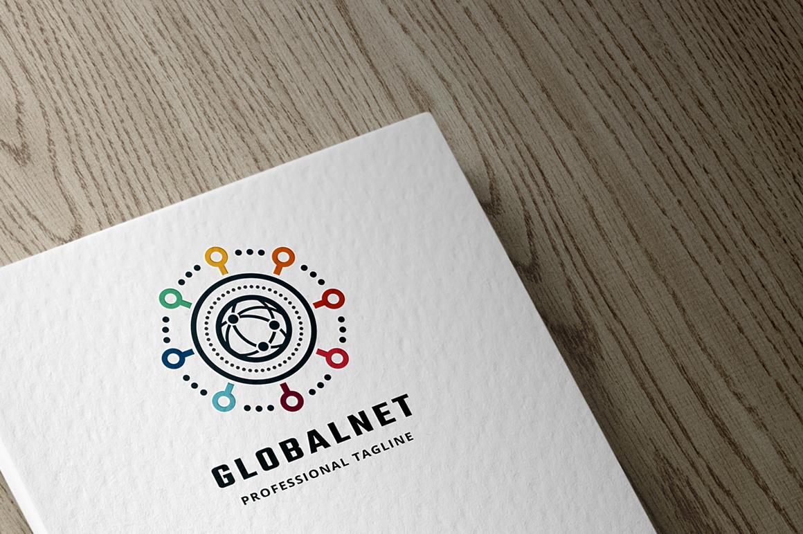Globalnet Template de Logotipo №156029